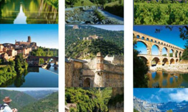 Occitanie : 8 sites of outstanding universal value, included Albi