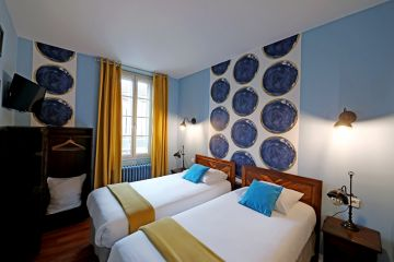 Hotel les Pasteliers ** - Albi - chambre twin